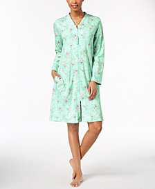 Charter Club Cotton Knit Robe, Created for Macy's