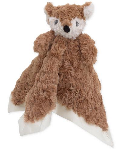 Cuddle Me Luxury Plush Security Blanket Brown Fox