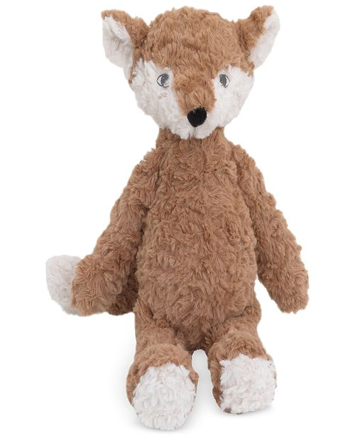 Cuddle Me Luxury Plush Brown Fox - Decorative & Throw Pillows - Bed ...