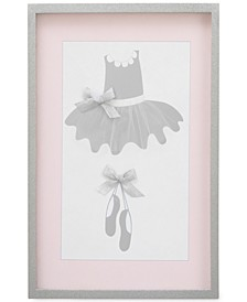 Ballerina Bows Framed Art