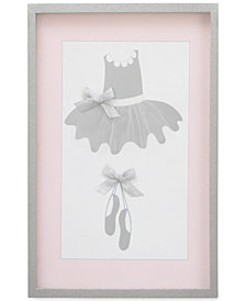 Nojo Ballerina Bows Frame Art