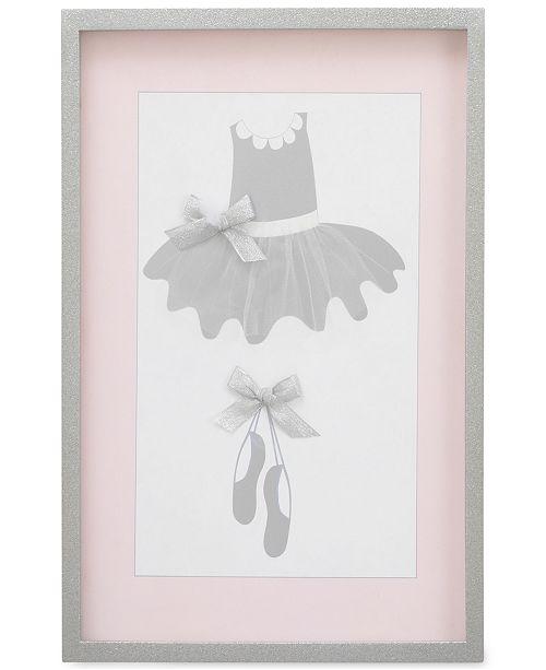 NoJo Ballerina Bows Framed Art