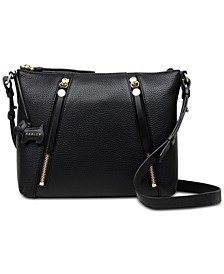 Fountain Road Pebble Leather Crossbody