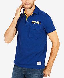 Nautica Men's NS-83 Embroidered Appliqué Polo