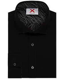 Calvin Klein X Men's Extra-Slim Fit Reversible Dress Shirt