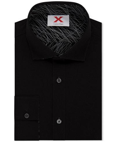 Calvin Klein X Men's Extra-Slim Fit Reversible Dress Shirt