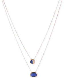 Ivanka Trump Geometric Stone 2-in-1 Necklace