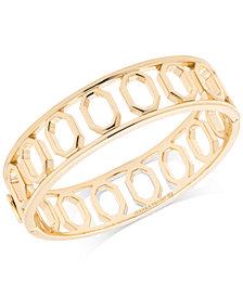 Ivanka Trump Geometric Open Bangle Bracelet