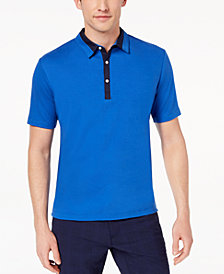 Daniel Hechter Paris Men's Atwood Mix-Media Polo