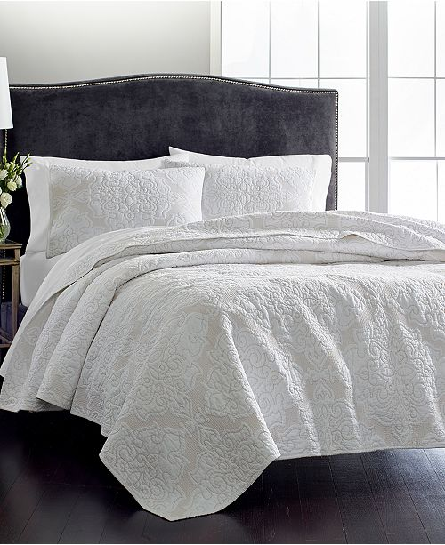 Martha Collection Gilded Age 100 Cotton King Quilt Created For Macy S Quilts Bedspreads Bed Bath