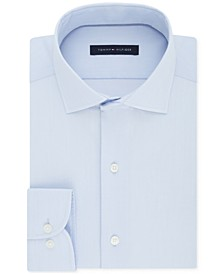 Men's Classic/Regular Fit Non-Iron Performance Stretch Solid Dress Shirt