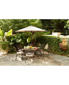 Astonishing Cast Aluminum Outdoor Furniture Patio Furniture Macys Beutiful Home Inspiration Ommitmahrainfo