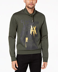 A|X Armani Exchange Men's Graphic-Print Hoodie