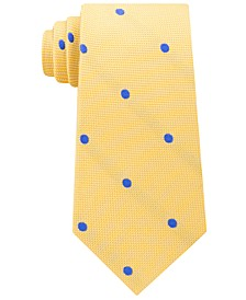 Men's Derby Oxford Dot Silk Tie