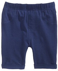 First Impressions Bermuda Shorts, Baby Girls, Created for Macy's
