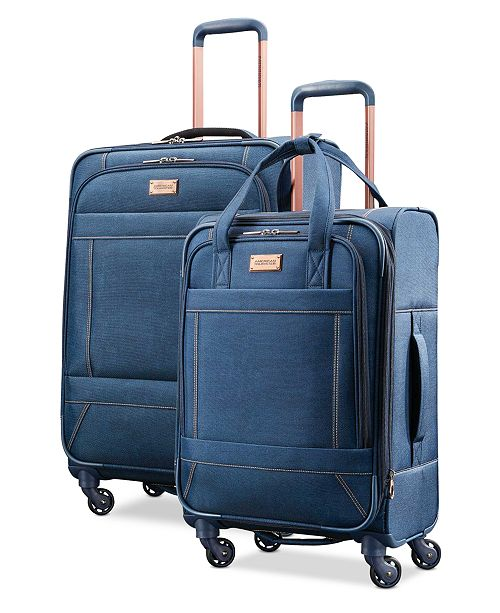 bdbb6d7cb81 American Tourister Belle Voyage Softside Luggage Collection ...