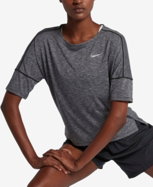 Nike  DRY MEDALIST CROPPED RUNNING TOP