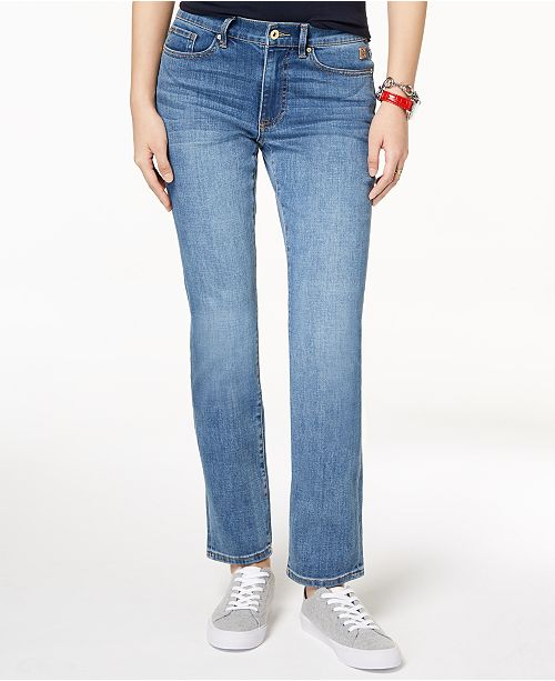 88a5a06e5 Tommy Hilfiger Straight-Leg Jeans & Reviews - Jeans - Women - Macy's