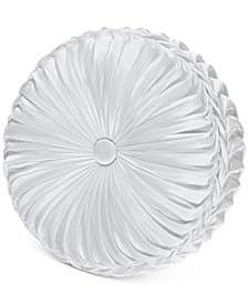 "Astoria 15"" Round Tufted Decorative Pillow"