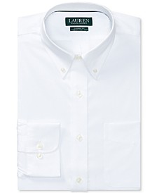 Men's Classic/Regular Fit Non-Iron Stretch Pinpoint Dress Shirt