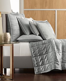 Hotel Collection Muse Quilted Coverlet & Sham Collection, Created for Macy's