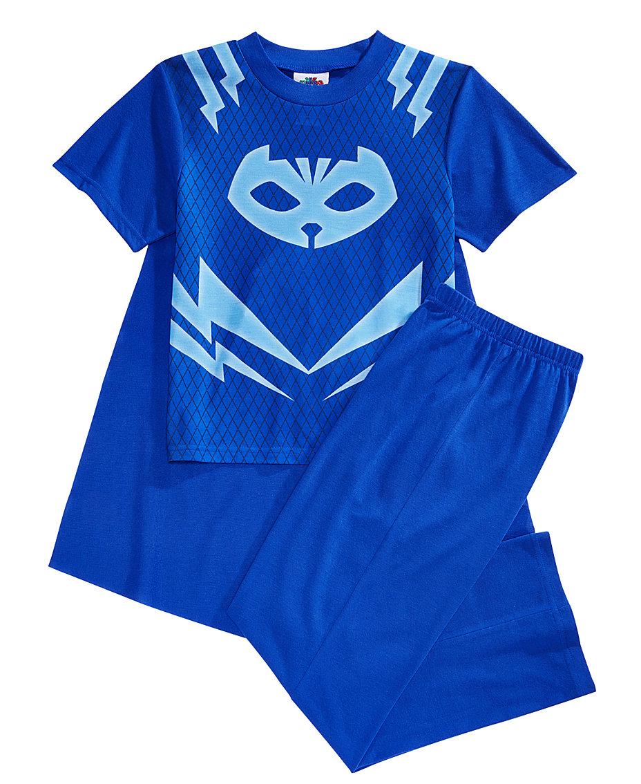 PJ Masks Disney Juniors® 3-Pc. Catboy Caped Pajama Set, Little Boys ...