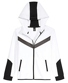 Ideology Little Boys Colorblocked Zip-Up Hoodie, Created for Macys