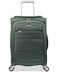 "Samsonite ECO-Spin 20"" Expandable Softside Spinner Suitcase, Created for Macy's"