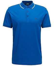 BOSS Men's Slim-Fit Graphic Polo
