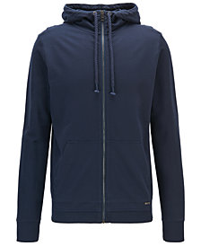 BOSS Men's French Terry Cotton Hoodie