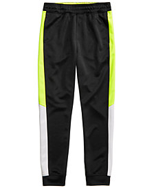 Ideology Colorblocked Jogger Pants, Big Boys, Created for Macy's