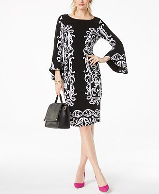 Inc International Concepts Inc Bell Sleeve Sheath Dress Created
