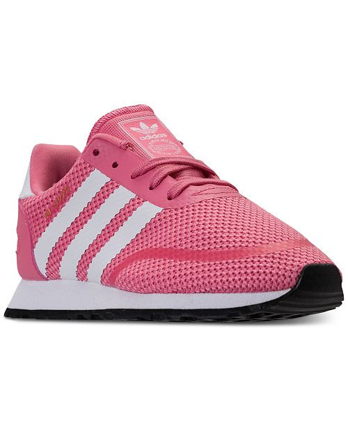 free shipping e5d9e 11b0b ... adidas Little Girls N-5923 Casual Sneakers from Finish ...