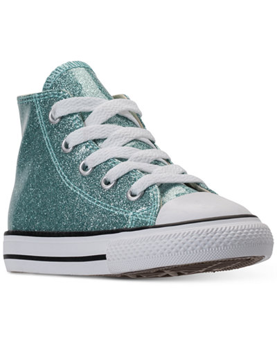 Converse Toddler Girls' Chuck Taylor All Star High Top Casual Sneakers from Finish Line