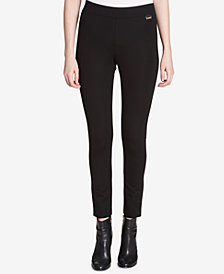 Calvin Klein Pull-On Skinny Ankle Pants