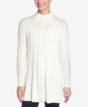 Catherine Malandrino CATHERINE CATHERINE MALANDRINO CABLE-KNIT SWING SWEATER