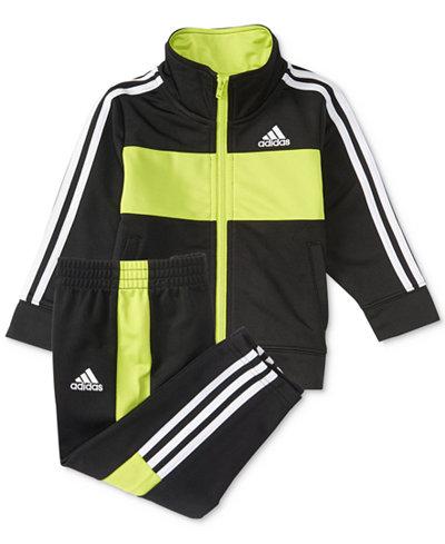 adidas 2-Pc. Team Tricot Jacket & Pants Set, Toddler Boys
