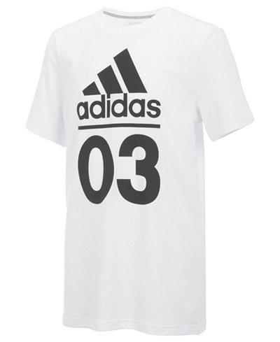 adidas 03-Print Cotton T-Shirt, Toddler Boys