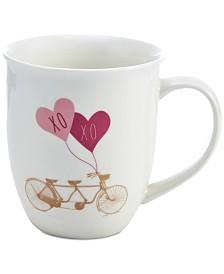 Pfaltzgraff XOXO Bike Mug