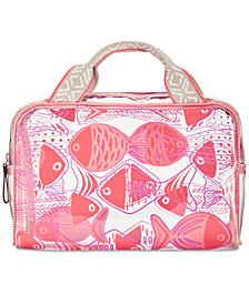 Vera Bradley Go Fish Beach Cosmetics Case