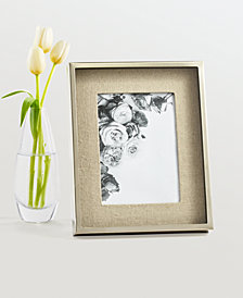 "Martha Stewart Collection Shadowbox Linen 8"" x 10"" Frame, Created for Macy's"