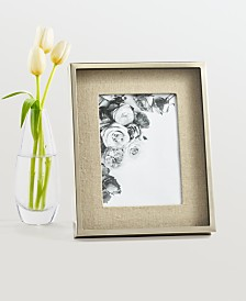 "CLOSEOUT! Martha Stewart  Collection Shadowbox Linen 8"" x 10"" Frame, Created for Macy's"