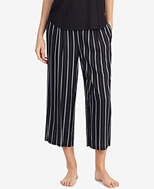 DKNY Striped Capri Pajama Pants