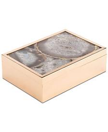 Zuo White Stone Large Decorative Box