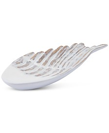 CLOSEOUT! Zuo White Poly Large Wing Decor