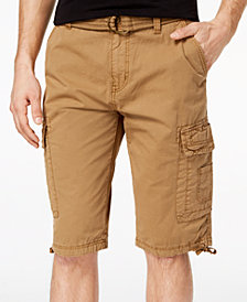 Ring of Fire Men's Delano Messenger Cargo Shorts, Created for Macy's