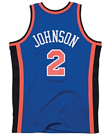 Men's Larry Johnson New York Knicks Hardwood Classic Swingman Jersey