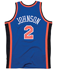 Mitchell & Ness Men's Larry Johnson New York Knicks Hardwood Classic Swingman Jersey
