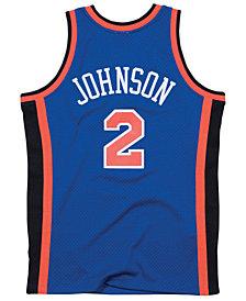 Mitchell & Ness Men's Larry Johnson New York Knicks Hardwood Classic Swingman Jersey