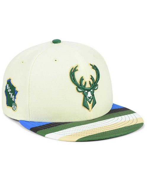 789b04352f8 ... New Era Milwaukee Bucks City Series 9FIFTY Snapback Cap ...